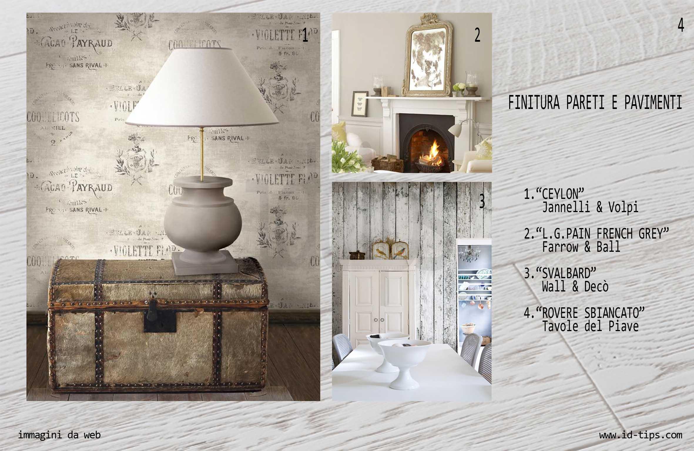 Shabby in 10 mosse id tips interior design tips blog for Tavole colori per pareti