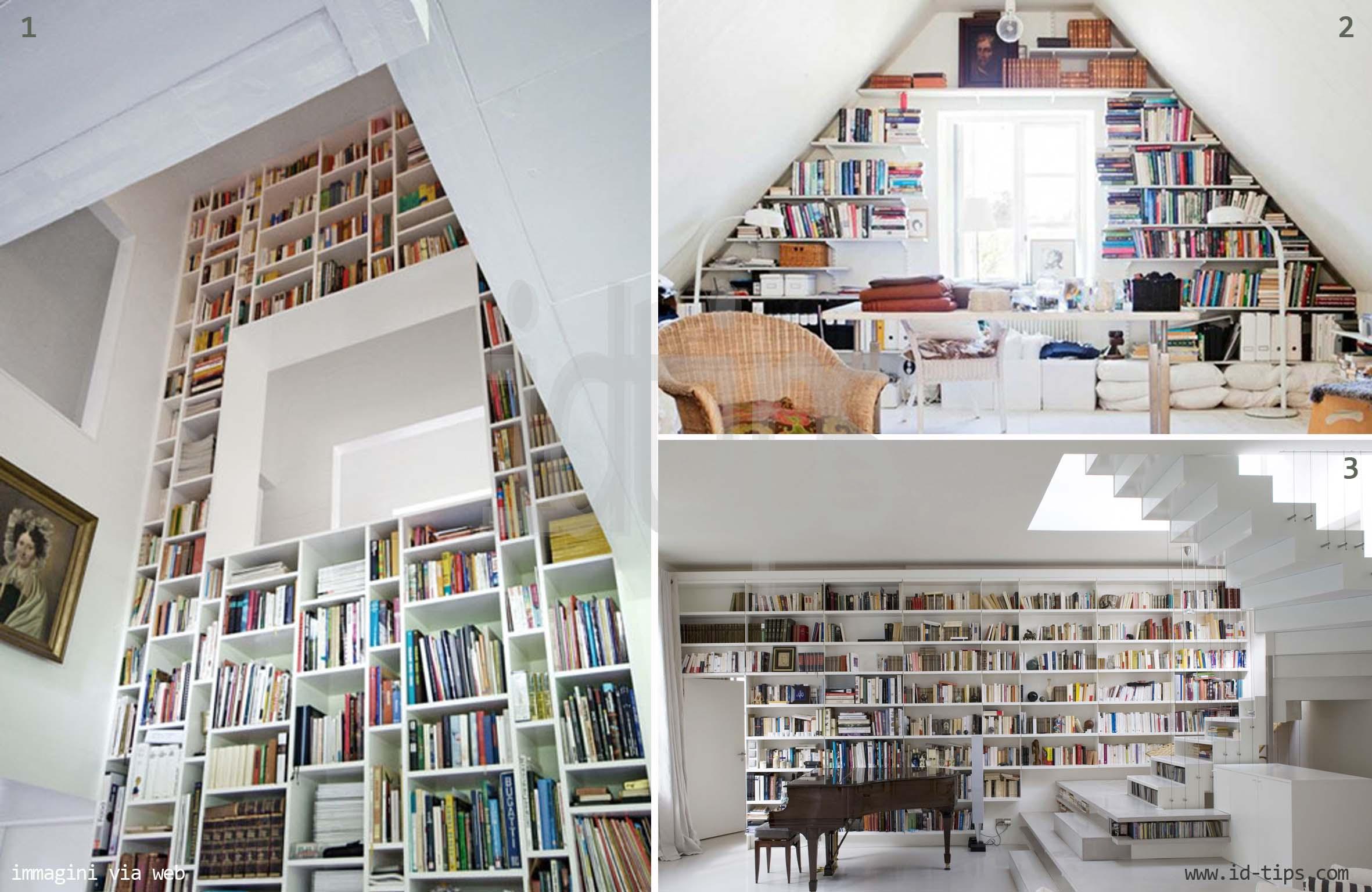 Idee Soggiorno Libreria