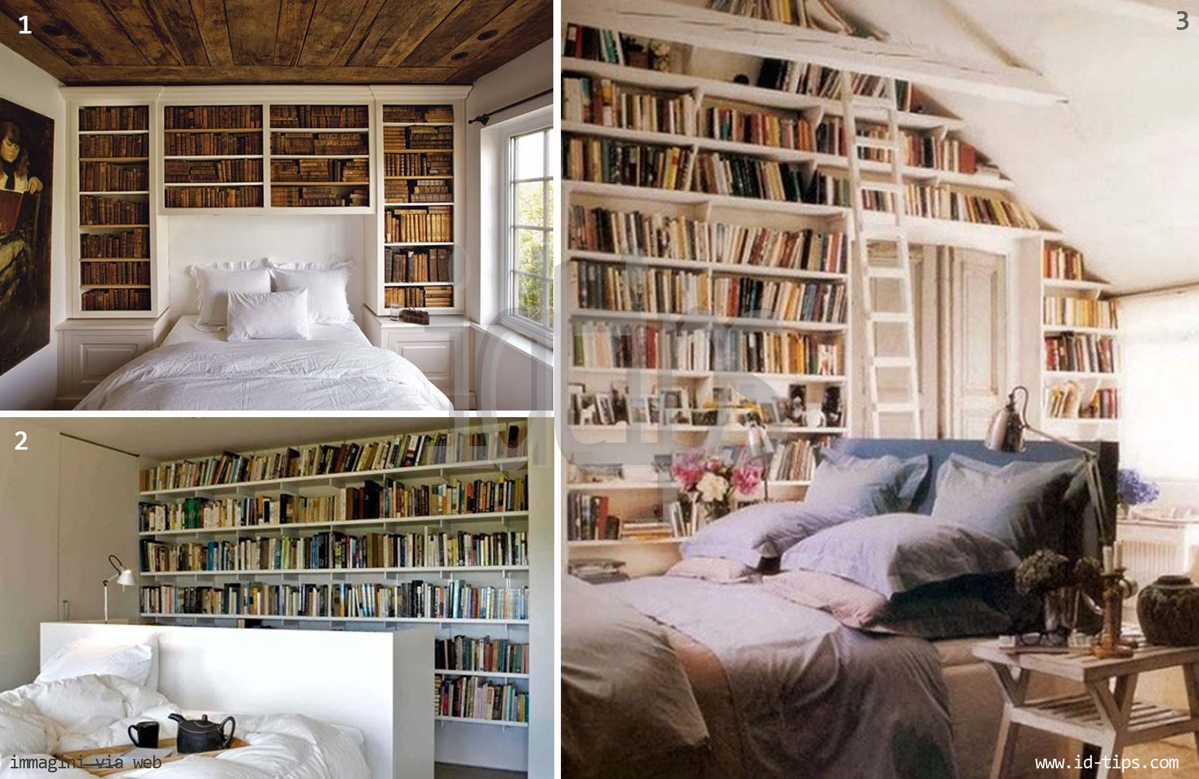 Book wall quando i libri arredano id tips interior design tips blog - Libreria per camera da letto ...