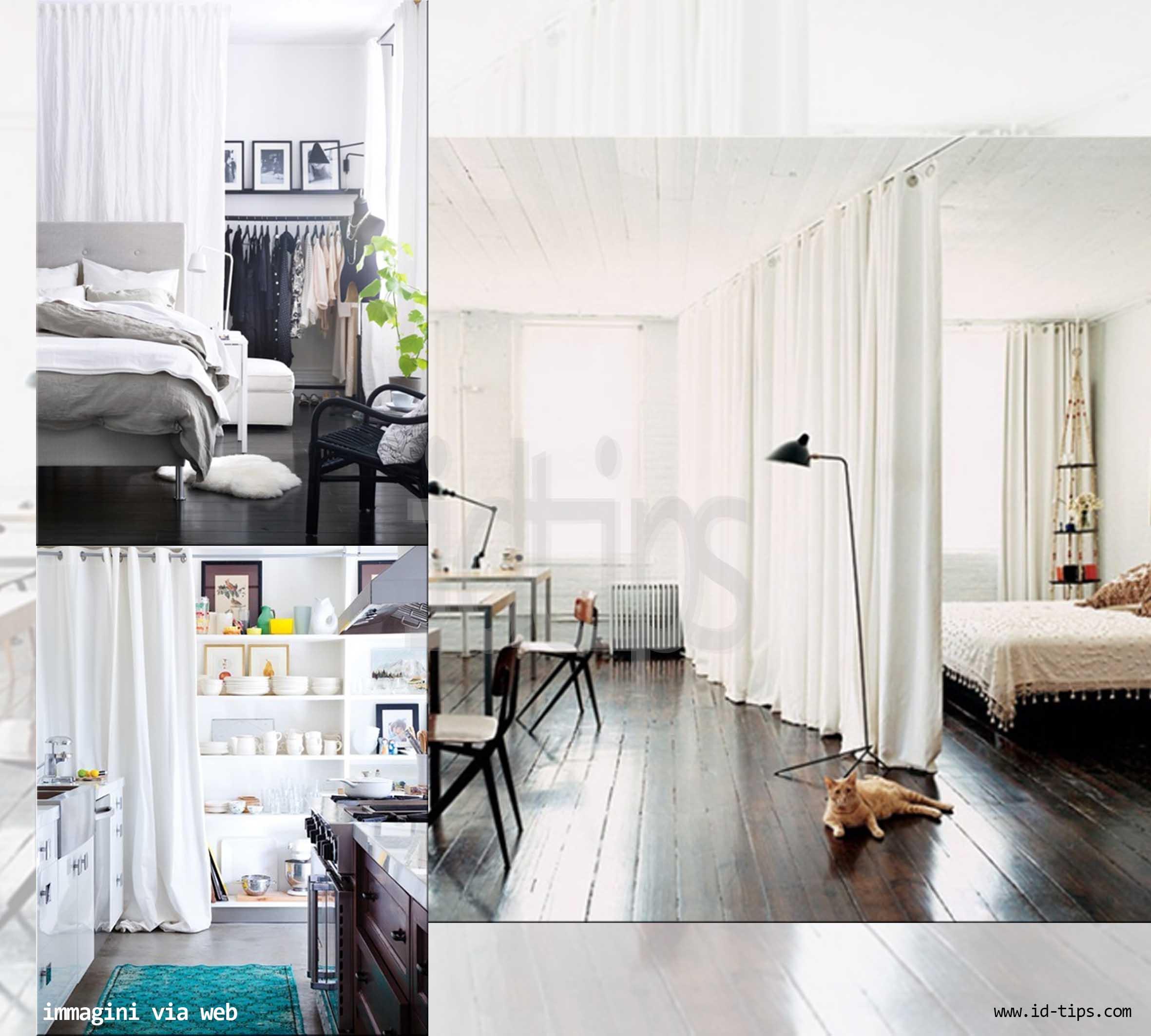 Separare con le tende - Ikea stoffe per tende ...