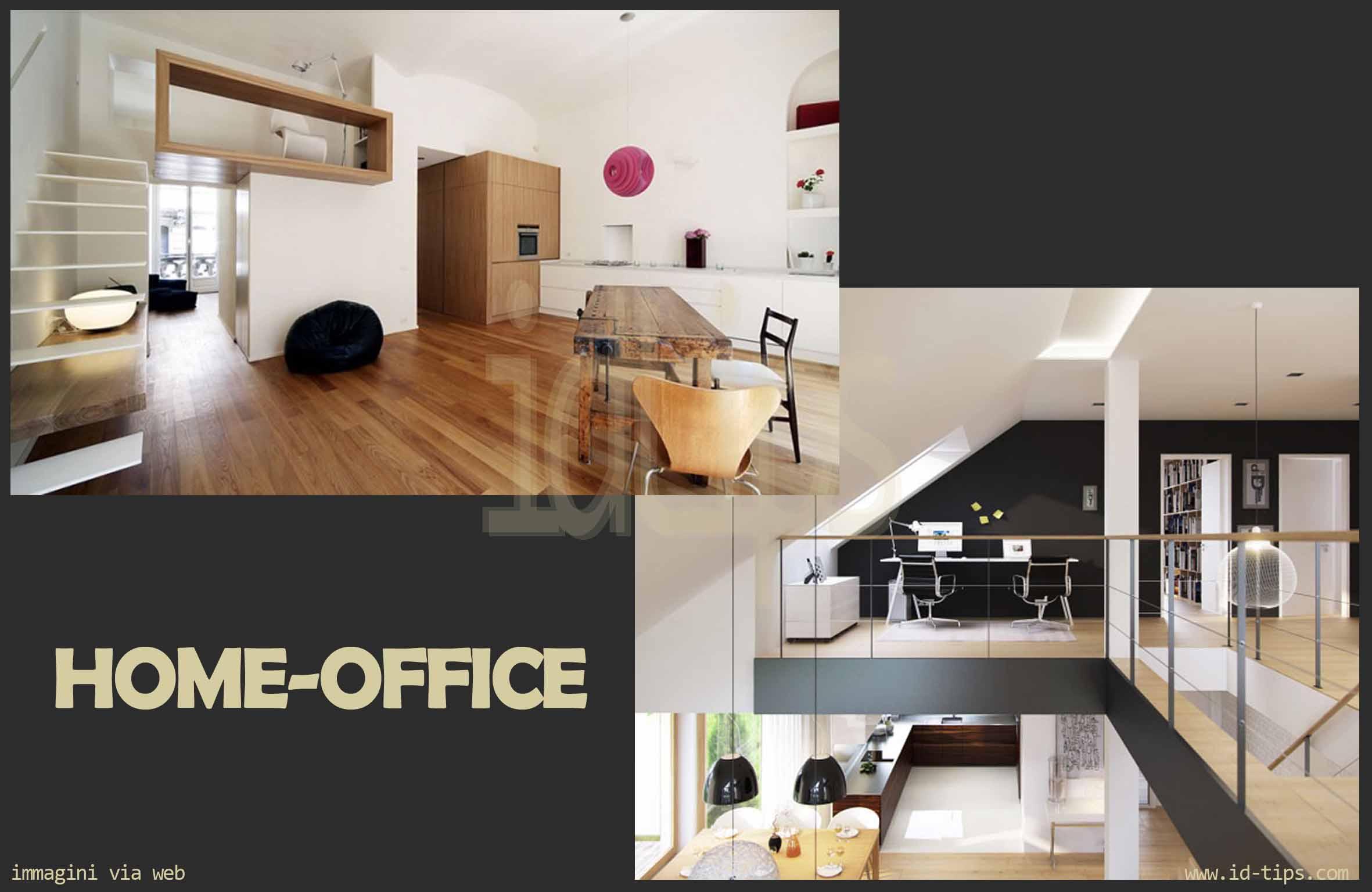 Home working la sfida dell ufficio in casa id tips interior design architettura e - Ufficio in casa ...