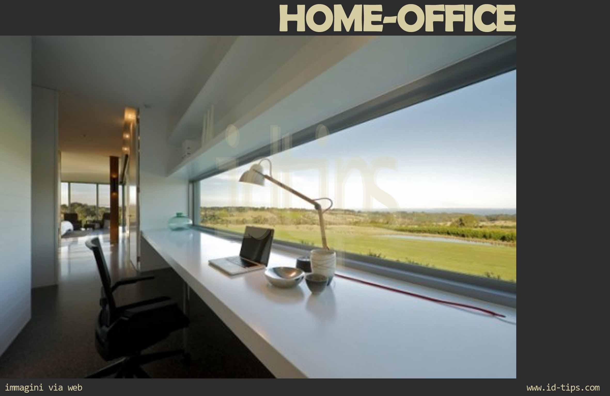 Home working la sfida dell ufficio in casa id tips for Arredare sottoscala aperto