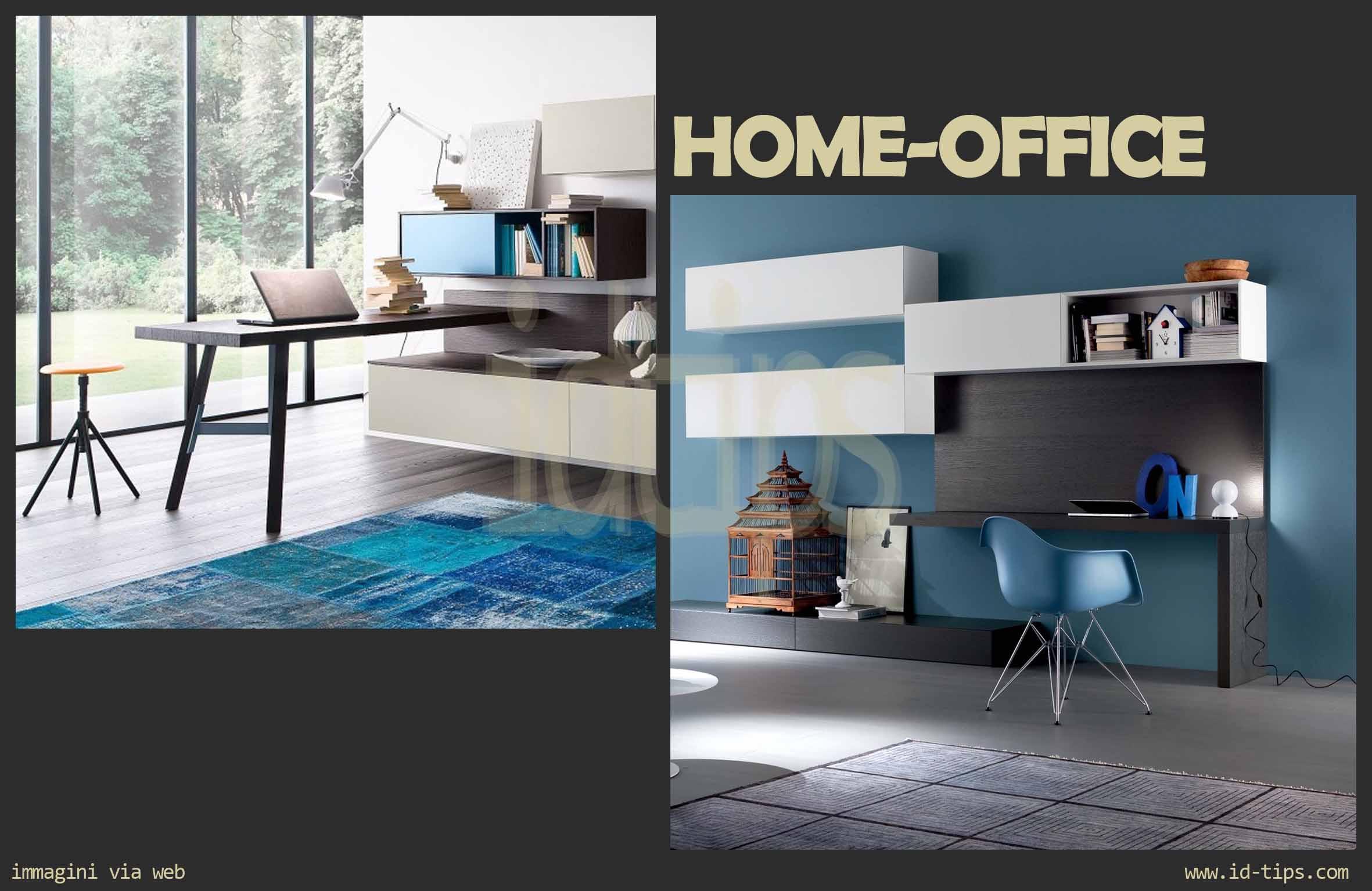 HOME WORKING: la sfida dell'ufficio in casa - Id-Tips  Interior ...
