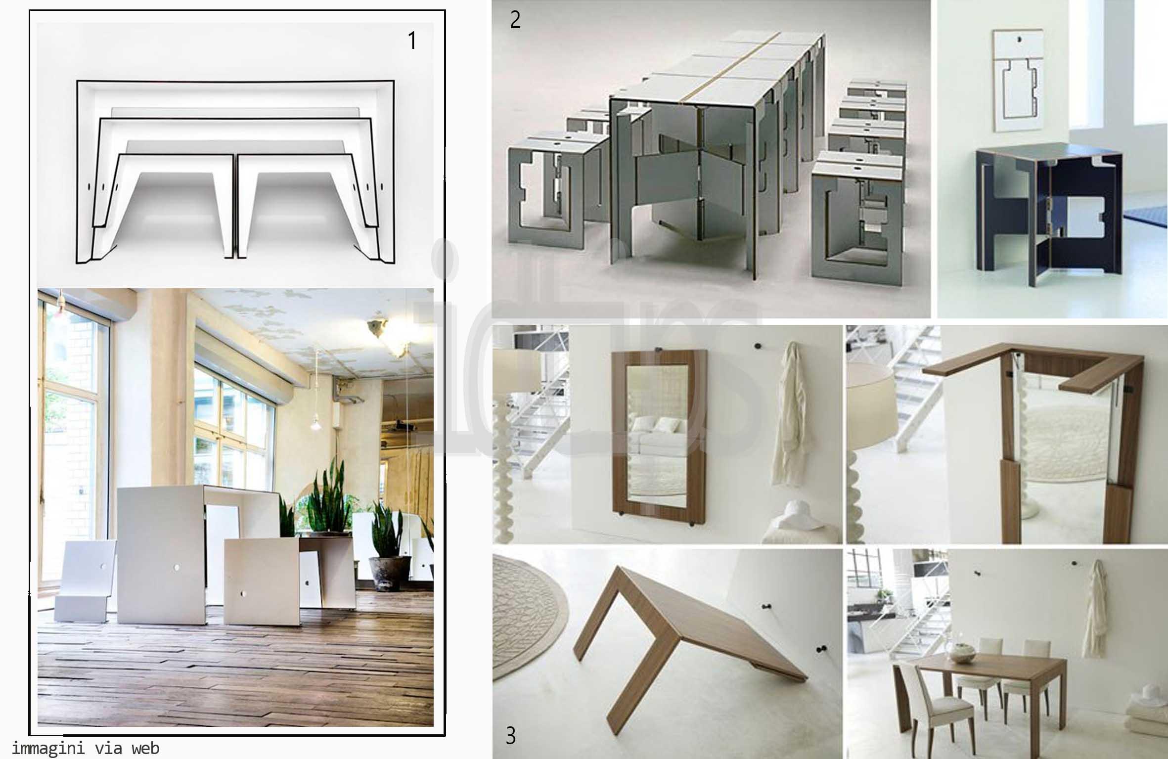 Piccoli spazi grandi idee id tips interior design for Piccoli spazi