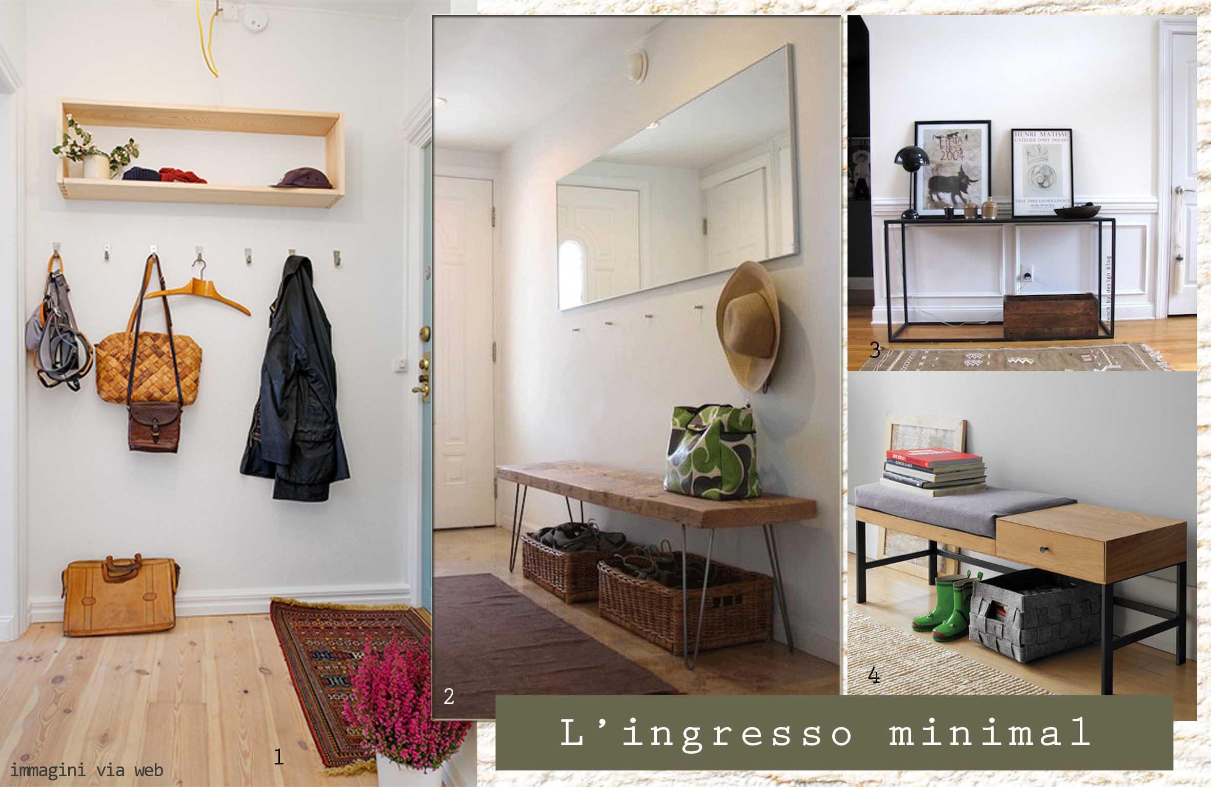 Mille modi per sfruttare l ingresso id tips interior design tips blog - Panche per ingresso casa ...
