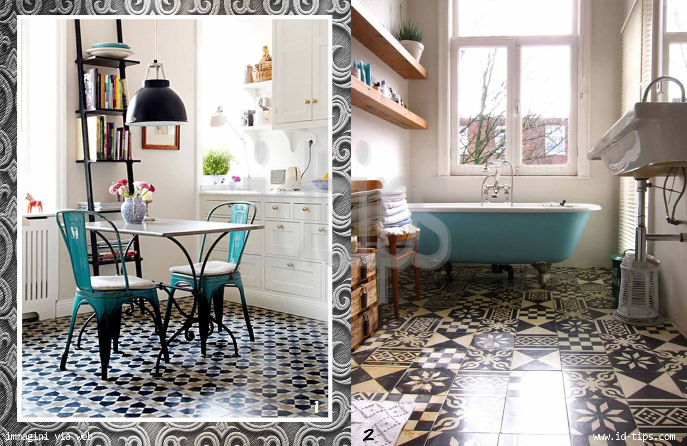 Azulejo tiles - Piastrelle geometriche cucina ...