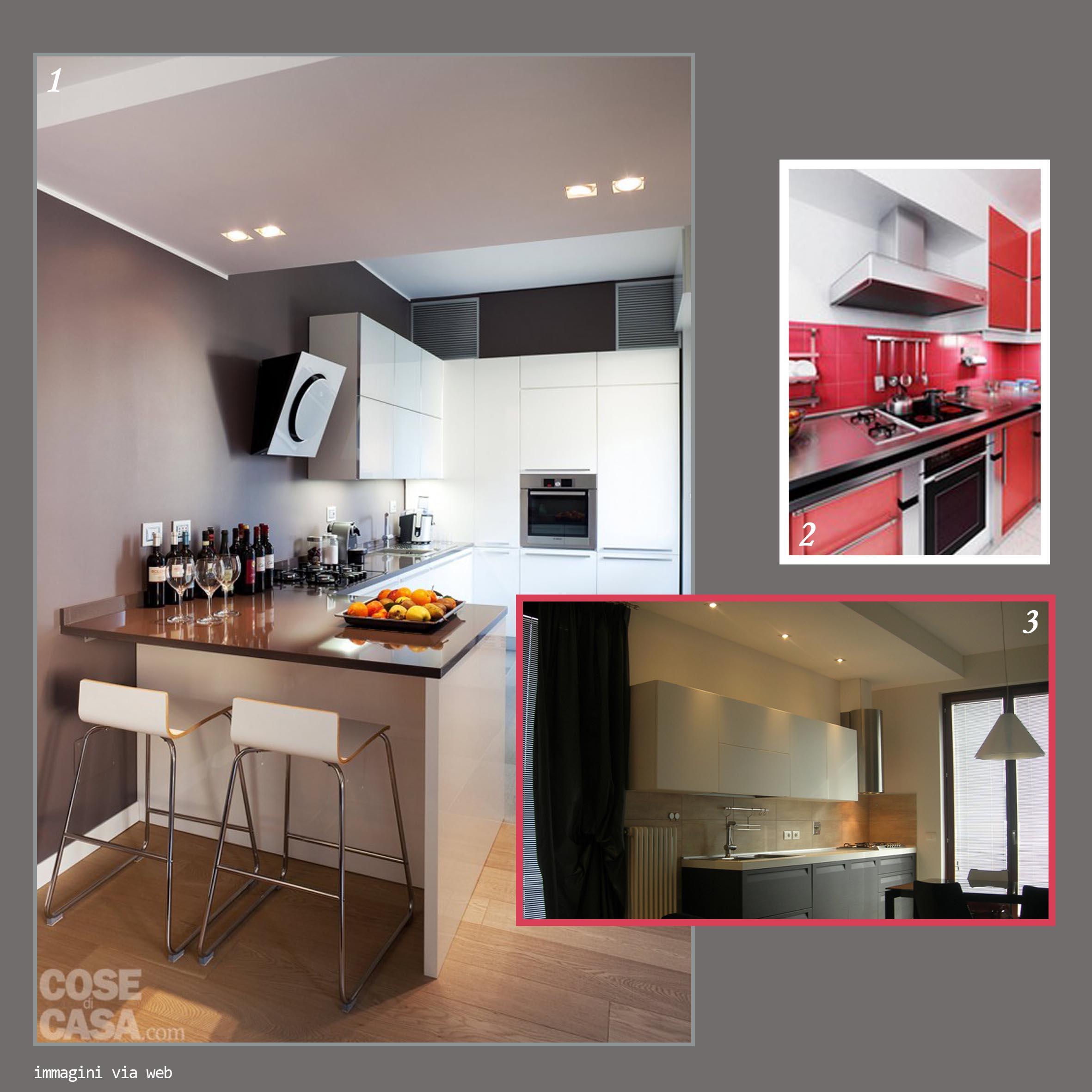 Cucina E Soggiorno In Mansarda : Cucina a vista con soggiorno ...